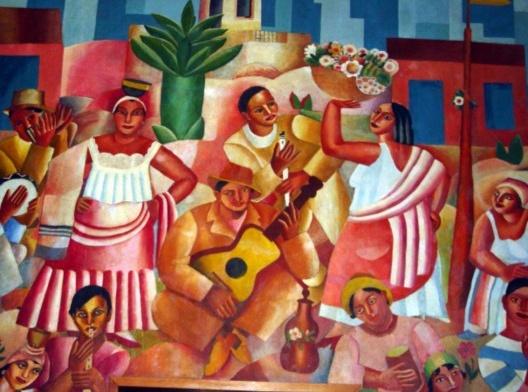 """""""Samba"""" (1925), de Di Cavalcanti<br />Imagem divulgação"""