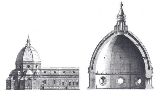 Catedral Santa Maria Del Fiori, Firenzi, Itália. Cúpula de Brunelleschi [Wikimedia Commons]