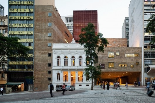 Praça das Artes, São Paulo. Escritório Brasil Arquitetura e arquiteto Marcos Cartum<br />Foto Nelson Kon