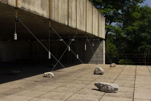 <i>Corpo de prova</i>, de Marcia Pastore, Museu Brasileiro da Escultura e Ecologia – MuBE, São Paulo<br />Foto Marcelo Arruda