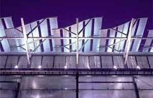 Pavilhão da Inglaterra na Expo Sevilha 1992, arq. Nicholas Grimshaw<br />Foto Nicholas Grimshaw and Partners