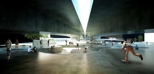 Projetos de baixios de viadutos