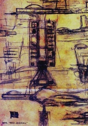 Esplanada dos Ministérios e a Praça dos Três Poderes, desenho de Lúcio Costa [Folha de São Paulo, 13 mar. 2007]