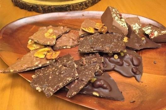 Chocolate da empresa brasileira Dengo<br />Foto divulgação