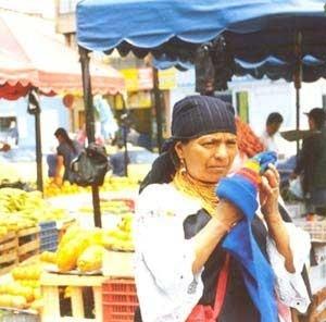 Venda ambulante em Bogotá