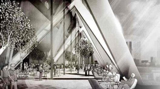 Edifício Park Avenue 425, projeto vencedor do concurso, Arquiteto Norman Foster (Foster and Partners) [site www.e-architect.com]