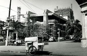 Masp em construção<br />Foto Luis Hossaka