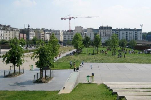 Jardin d'Éole, Paris<br />Foto Cecilia Herzog