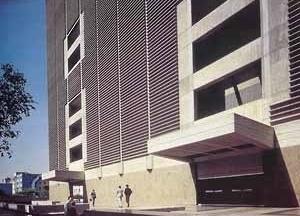 Banco Central de Venezuela, Tomás Sanabria. Caracas. 1960-1967