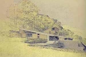 Proyecto del casa Morella, Tomás Sanabria. Caracas, 1972-1973