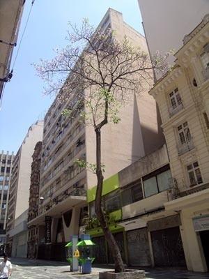Figura 2 – Edifício e Galeria Califórnia – fachada para a Rua Dom José de Barros