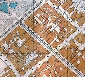 Figura 4 – Mappa Topographico de São Paulo – S.A.R.A Brasil 1930