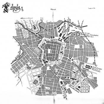 Plano de Leipzig [STÜBBEN, 1890]