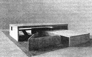 Casa de Catanduva, arq Paulo Mendes da Rocha. Maquete