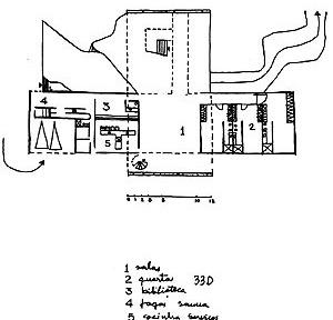 Casa de Catanduva. Planta