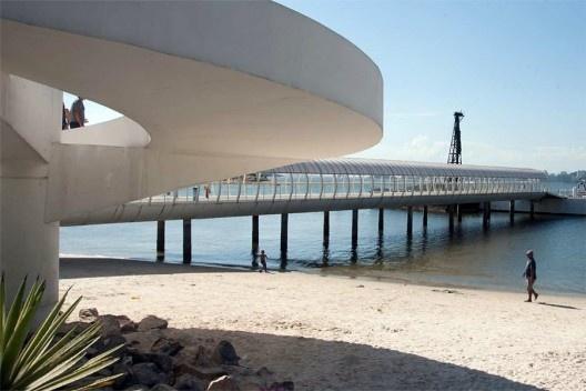 Estação da Barcas Charitas, Rio de Janeiro, Oscar Niemeyer