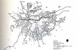 Área Metropolitana de São Paulo (1962-1987) [VILLAÇA, Flavio, 2001]