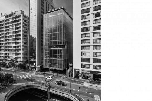 Projeto para um Museu na Avenida Paulista