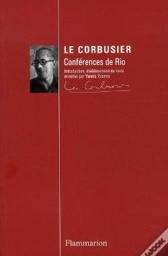 Le Corbusier conférences de Rio