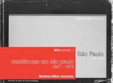 Residências em São Paulo 1947 - 1975